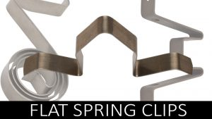 Flat Spring Clips